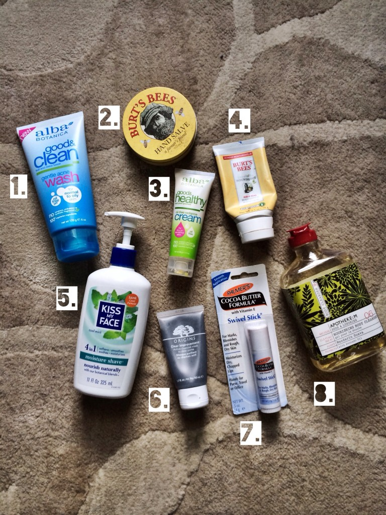 Skin and body care faves