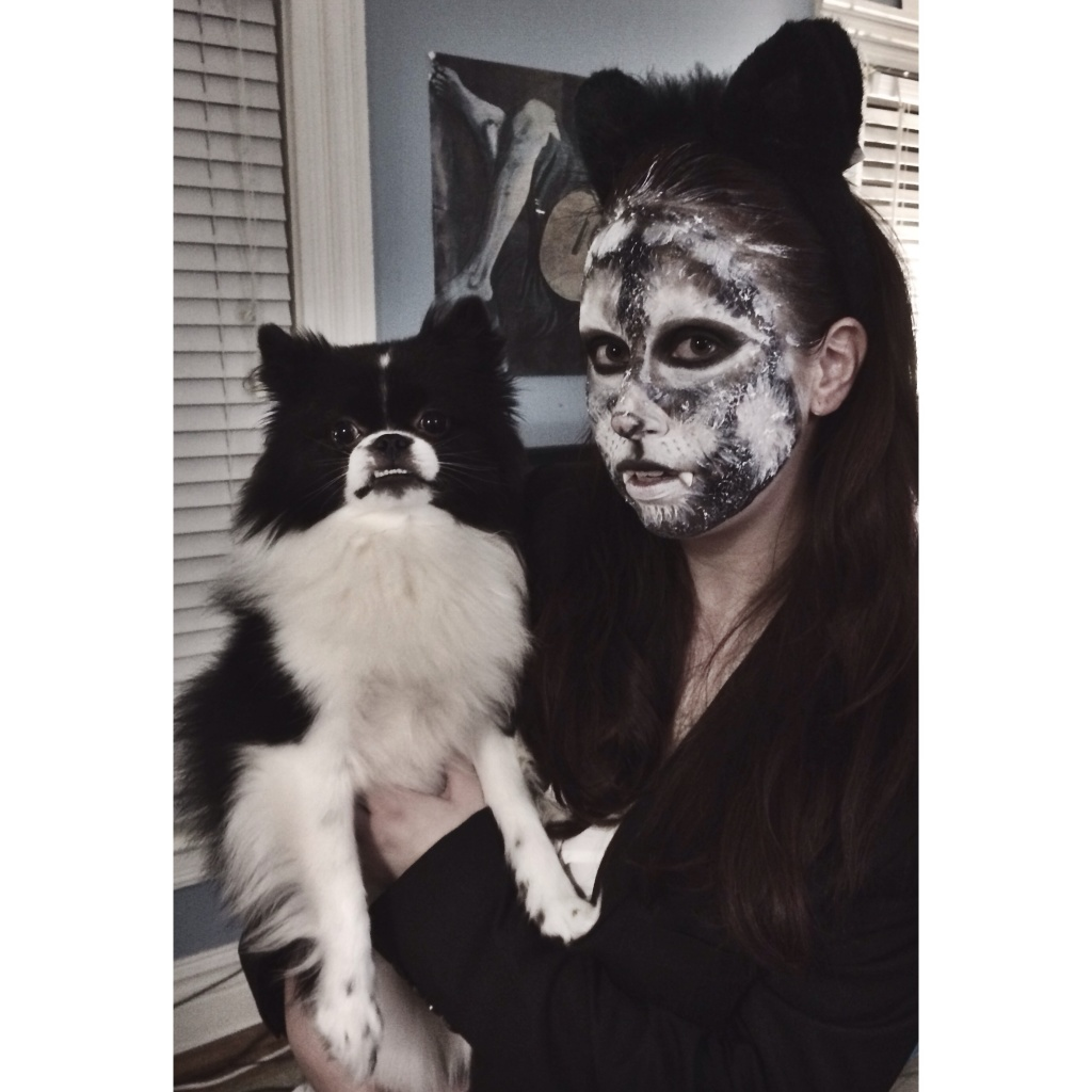 Wolf and her cub