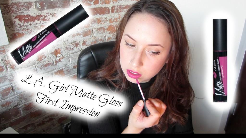 L.A. Girl Matte Pigment Gloss